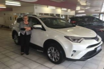 Congratulations Joan Carter on your new RAV4 Image